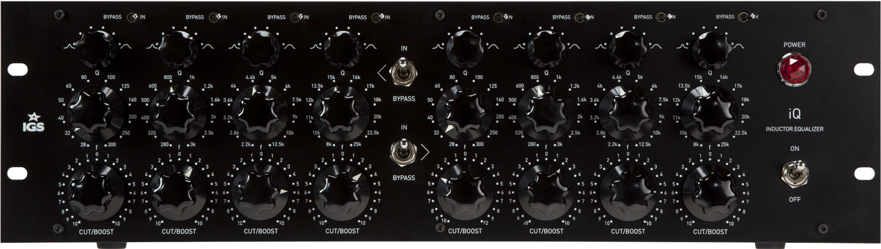 IGS – iQ  Inductor Equalizer | dBmusic